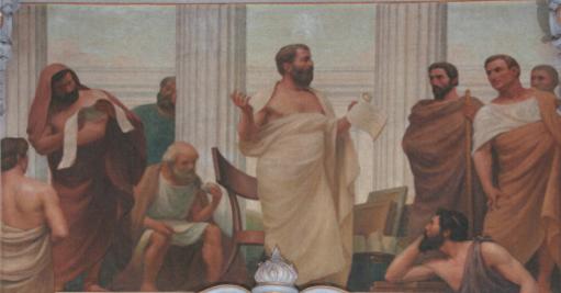 O Início da Ciência (1906) - Veloso Salgado (Sala dos Actos, FCM-UNL)
