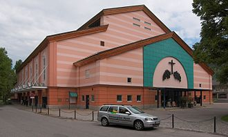 Oberammergau Passion Play - The Passion festival theater