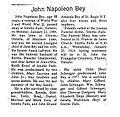 Obituary of John Napoleon Bey (1896-1984) (19531761734).jpg