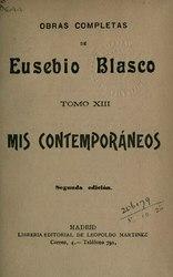 Eusebio Blasco: Obras completas