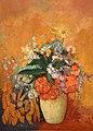 Odilon redon, vaso di fiori, 1905, 02.jpg