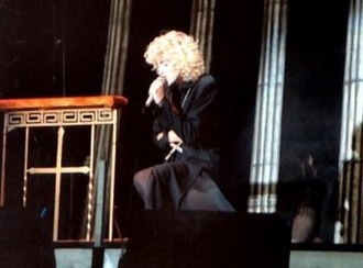 "Something to Remember - Madonna performing ""Oh Father"" during the Blond Ambition World Tour. In Europe, it was released as the compilation's second single."