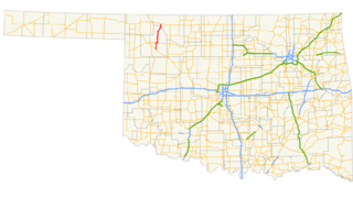 Oklahoma State Highway 50 highway in Oklahoma