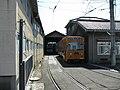 Okayama Electric Tramway Higashiyama rail yard - panoramio (6).jpg