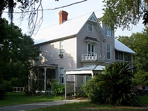 National Register of Historic Places listings in Marion County, Florida - Image: Oklawaha Thomas Ayer house 01