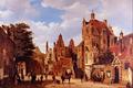 Old Amsterdam - Barend Cornelis Koekkoek.png