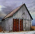 Old barn of 14 th road Stoke to Dudswell - panoramio.jpg