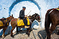 Old donkeyman of Santorini Mule Path Santorini island (Thira), Greece (full length portrait).jpg