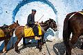 Old donkeyman of Santorini Mule Path Santorini island (Thira), Greece (full length portrait).jpg