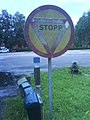 Old stop sign, Timmele - panoramio.jpg