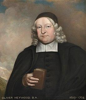 Oliver Heywood (minister) English minister