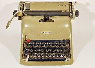 Olivetti typewriter, model Lexikon 80 with Latin letters