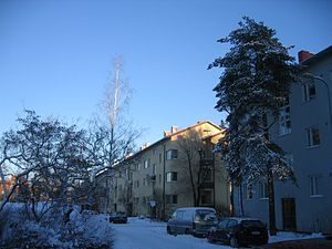 Olympic Village - Helsinki Olympic Village of 1952.