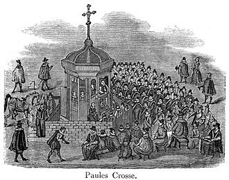 St Paul's Cross - Open Air Preaching at St. Paul's Cross