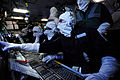 Operations Room Staff Onboard HMS Illustrious During an Exercise MOD 45153376.jpg