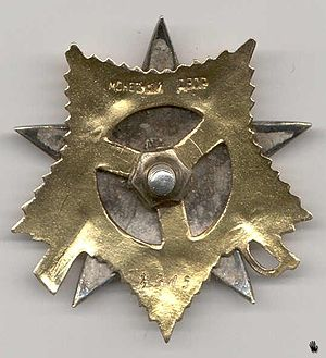 Order of the Patriotic War - Image: Orden otechestvennoy voyny A0078505R