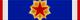 Fascia dell'Ordine della bandiera jugoslava (Iugoslavia) - nastrino per uniforme ordinaria