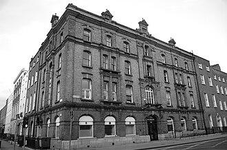 Oriel House, Westland Row - South façade, Oriel House, Westland Row