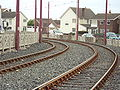 Orion Curve, Blackpool tramway, Cleveleys - DSC06645.JPG