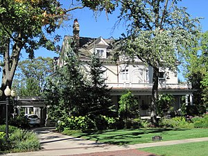 National Register of Historic Places listings in DuPage County, Illinois - Image: Orland P. Bassett House