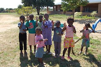 Namwianga Mission - Orphans at Namwianga