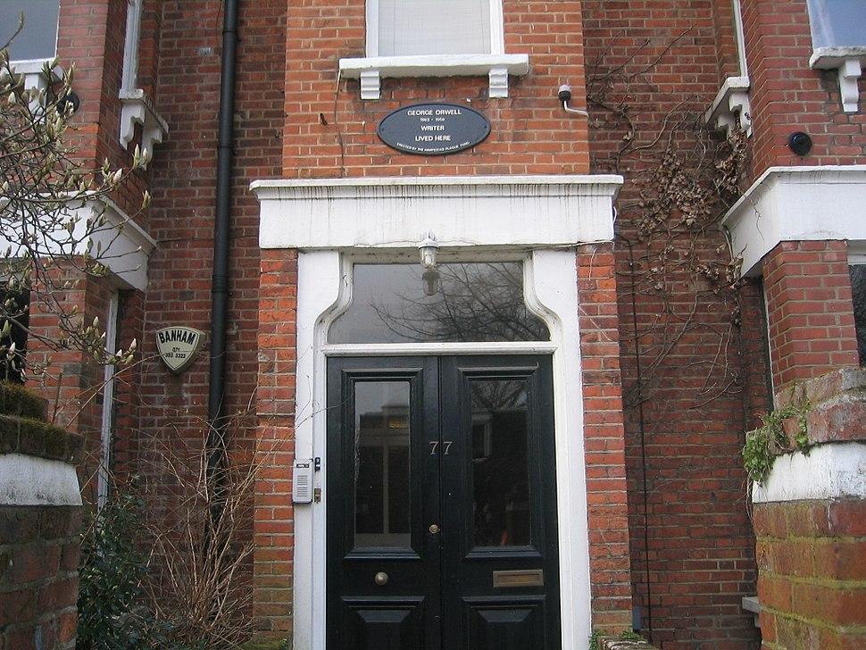 Orwell hampstead home