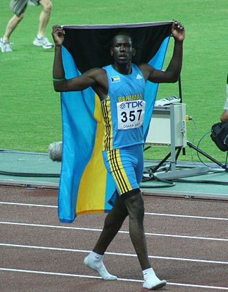 Bahamas at the 2008 Summer Olympics - Donald Thomas, who competed in high jump for the Bahamas at Beijing