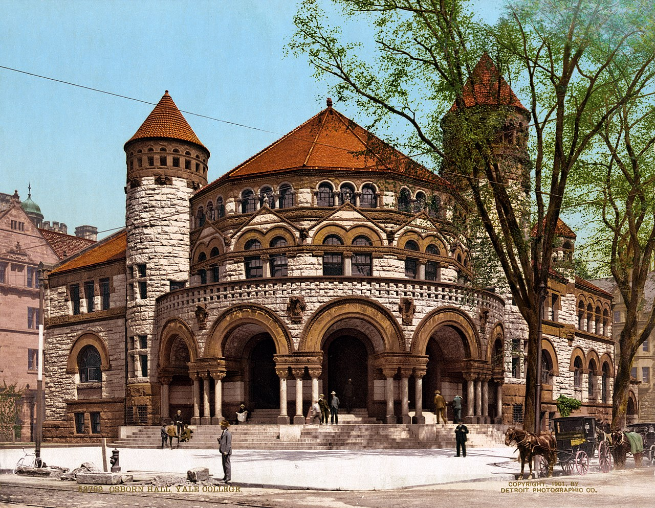 File:Osborn Hall, Yale College, New Haven, Connecticut, 1901.jpg ...