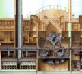 Oscillating engine, and boilers, of Great Eastern.png