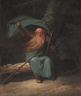 title character in the work of Ossian