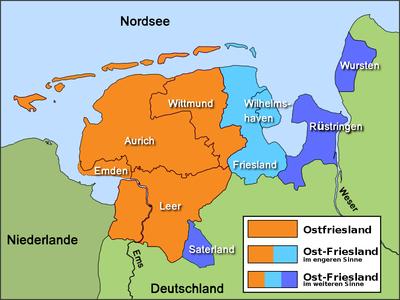 karte ostfriesland Wikipedia:WikiProjekt Ostfriesland/Kartenzimmer – Wikipedia karte ostfriesland