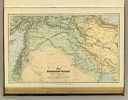 Ottoman Middle East in 1900, Edward Stanford