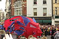 Our Greatest Team Parade Lion close-up near Aldwych 2.JPG