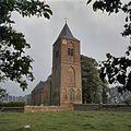 Overzicht van de noordwestgevel met kerktoren - Herveld-Zuid - 20381451 - RCE.jpg