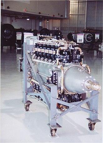 Pratt & Whitney X-1800 - Image: P&W X 1800