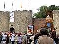 Péronne (13 septembre 2009) derniers groupes devant château 9.jpg