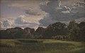 P.C. Skovgaard - Optrækkende tordenbyge over Nysø Have og Fribedet - KMS1559 - Statens Museum for Kunst.jpg