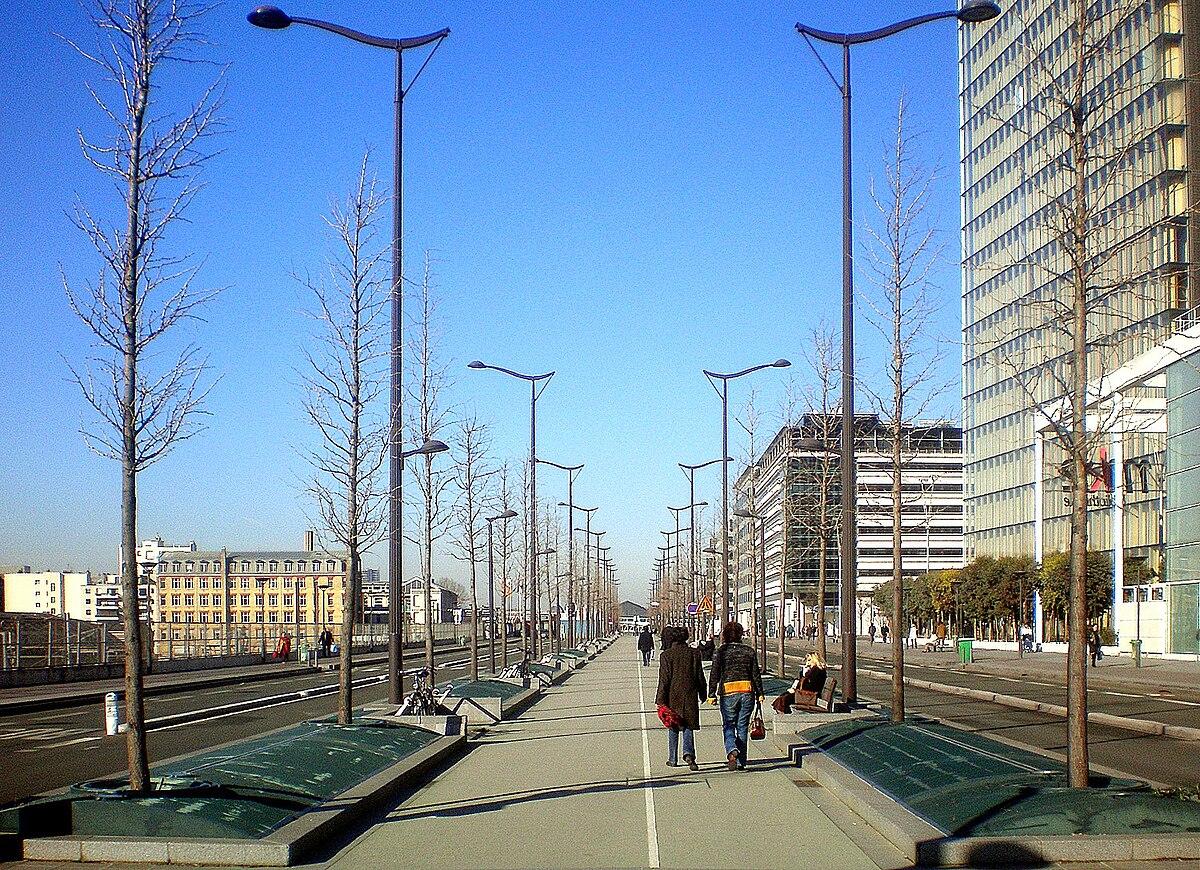 Avenue de france wikip dia for Avenue jules dujardin 5