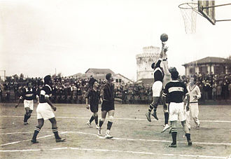 P.A.O.K. BC - PAOK vs Chanth (YMCA) during the 1920s.