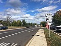 PA 611 NB shield past Almshouse Road.jpg