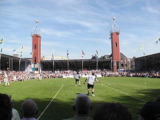 Frisian handball - Frisian handball in Franeker