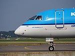 PH-EZC KLM Cityhopper Embraer ERJ-190STD (ERJ-190-100) taxiing, 25august2013.JPG