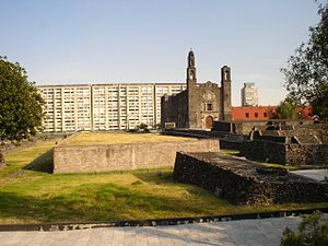 "Culture of Mexico - Plaza de las Tres Culturas (""Square of the Three Cultures"")"