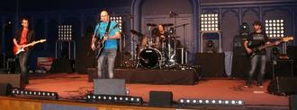 Lille Catholic University - Catholic rock group P.U.S.H. performing at Catho