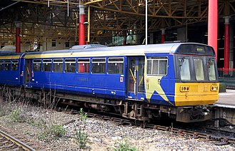 First North Western - Image: Pacer at Manchester Victoria