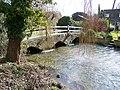 Packhorse bridge, Coombe Bissett - geograph.org.uk - 1715829.jpg