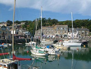 Padstow Human settlement in England