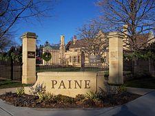 Paine Art Center And Gardens: Entranceu2014sign