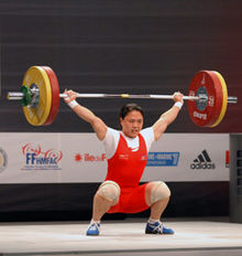 Olympic weightlifting - Wikipedia