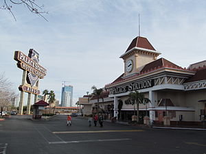 O. J. Simpson robbery case - Palace Station, Las Vegas, where the robbery took place